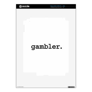 gambler. decal for iPad 2