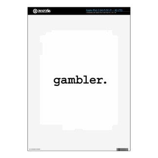 gambler. decal for iPad 3