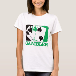 Gambler - Green T-Shirt