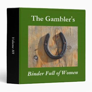 Gambler Lucky Horseshoe Binders Full of Women