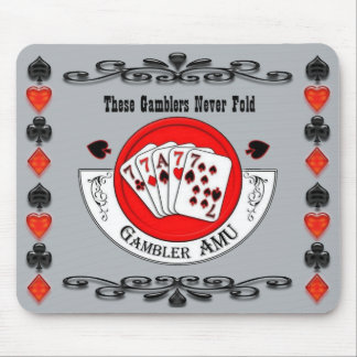 Gambler Mouse Pad Old Style