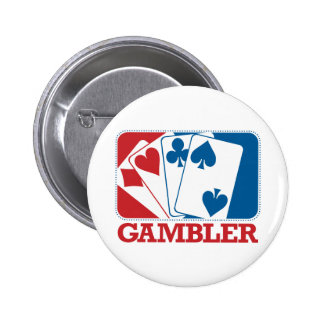 Gambler - Red and Blue Pins