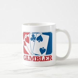 Gambler - Red and Blue Coffee Mug