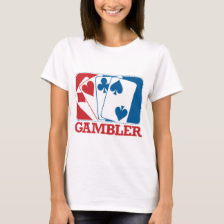 Gambler - Red and Blue T-Shirt