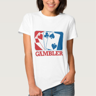 Gambler - Red and Blue Tee Shirt
