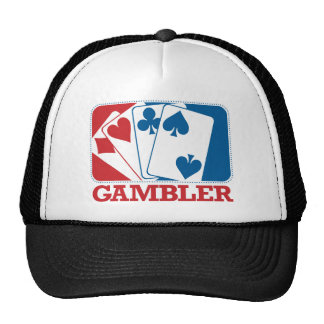 Gambler - Red and Blue Trucker Hat