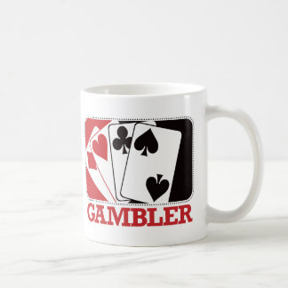 Gambler - Red Coffee Mug