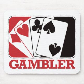 Gambler - Red Mouse Pad