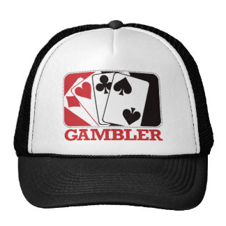 Gambler - Red Trucker Hat