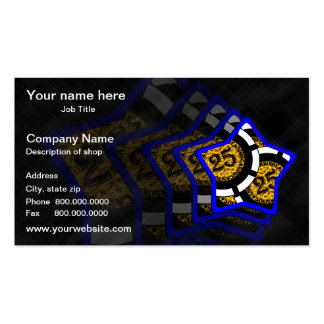 Gambler Template Business Card