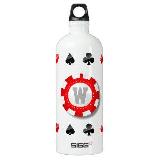 Gambler's Aluminum Water Bottle