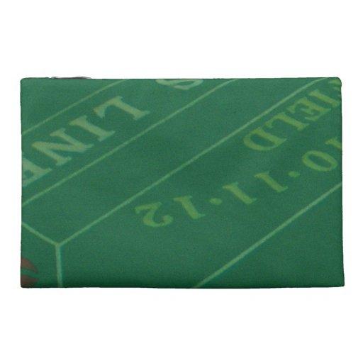 Gamblers Craps Table  Image Travel Accessories Bag