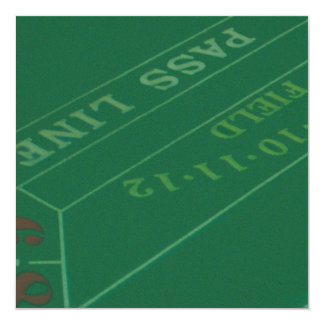 Gamblers Craps Table  Image Card