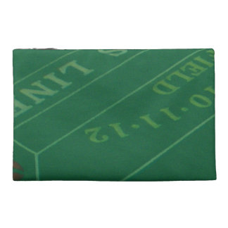 Gamblers Craps Table  Image Travel Accessory Bags