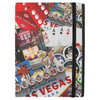 Gamblers Delight - Las Vegas Icons Background iPad Pro Case