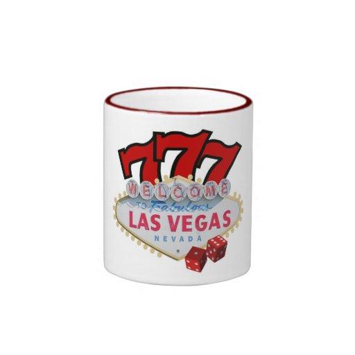 Gambler's Favorite Las Vegas Ringer T Mug