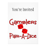 Gamblers Pair A Dice Announcement