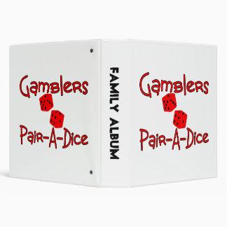 Gamblers Pair A Dice Binder