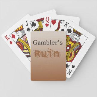 Gambler's Ruin - Playing Cards for Gamblers!