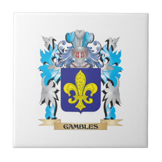 Gambles Coat of Arms - Family Crest Tiles