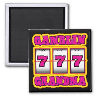 GAMBLIN GRANDMA 2 INCH SQUARE MAGNET