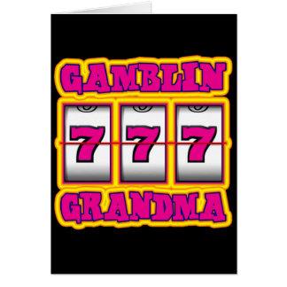 GAMBLIN GRANDMA CARD