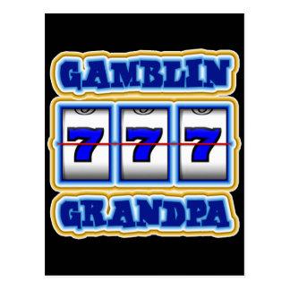 GAMBLIN GRANDPA POSTCARD