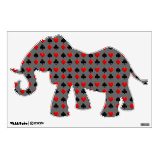 Gambling Cards Suits Wall Sticker