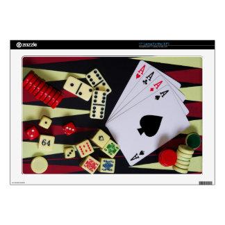 Gambling casino gaming pieces laptop skins