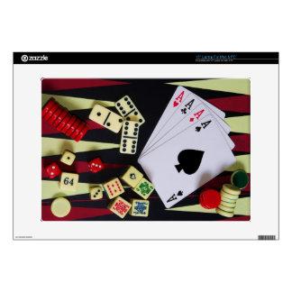 Gambling casino gaming pieces skins for laptops