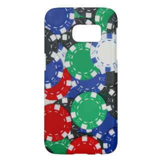 gambling chips samsung galaxy s7 case