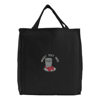 Gambling Embroidered Bag