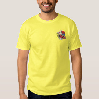 Gambling Embroidered T-Shirt