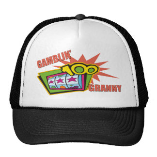 Gambling Granny T-shirts and Gifts For Her Trucker Hat