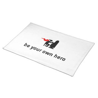 Gambling Hero Cloth Placemat