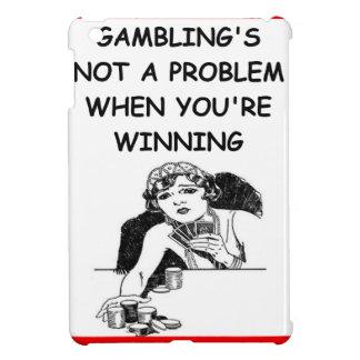GAMBLING iPad MINI COVER