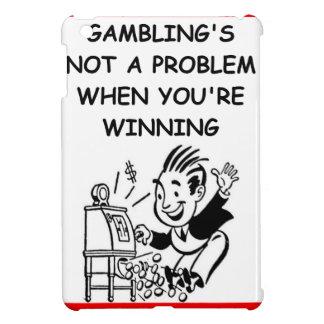GAMBLING iPad MINI CASE