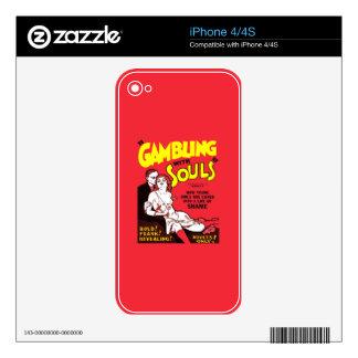 Gambling iPhone 4S Skins