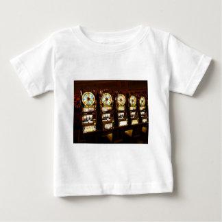 Gambling Machine One Armed Bandit Money Las Vegas Baby T-Shirt