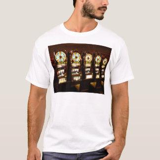 Gambling Machine One Armed Bandit Money Las Vegas T-Shirt