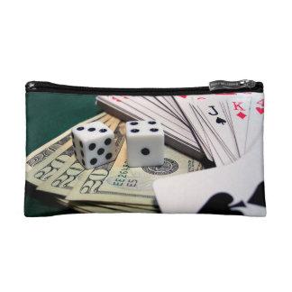 Gambling Money Cosmetic Bag