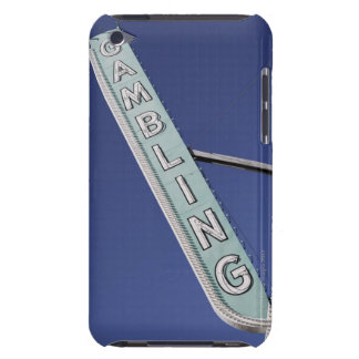 Gambling neon sign in Las Vegas, Nevada Case-Mate iPod Touch Case