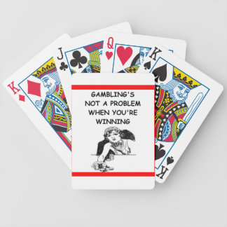 GAMBLING BICYCLE PLAYING CARDS