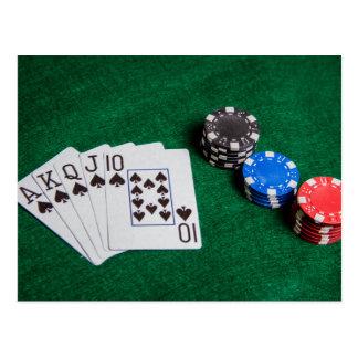 Gambling Postcard