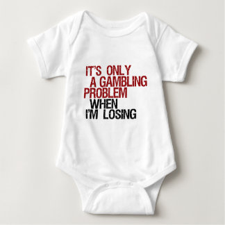 Gambling Problem Baby Bodysuit