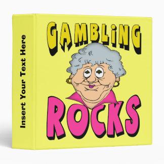 Gambling Rocks Avery Binder