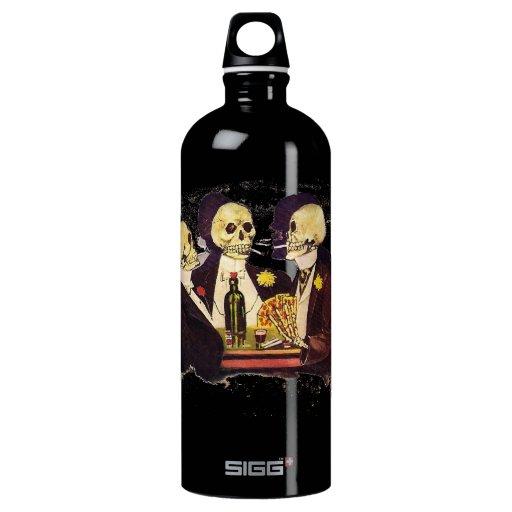 Gambling Skeletons SIGG Traveler 1.0L Water Bottle