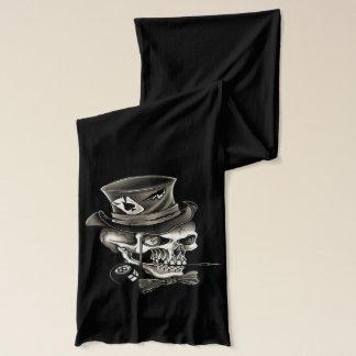Gambling skull scarf