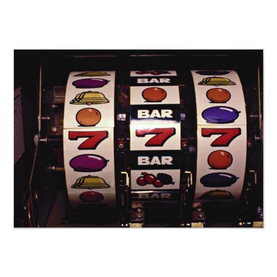 Gambling, slot machines card