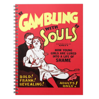 Gambling Spiral Notebook